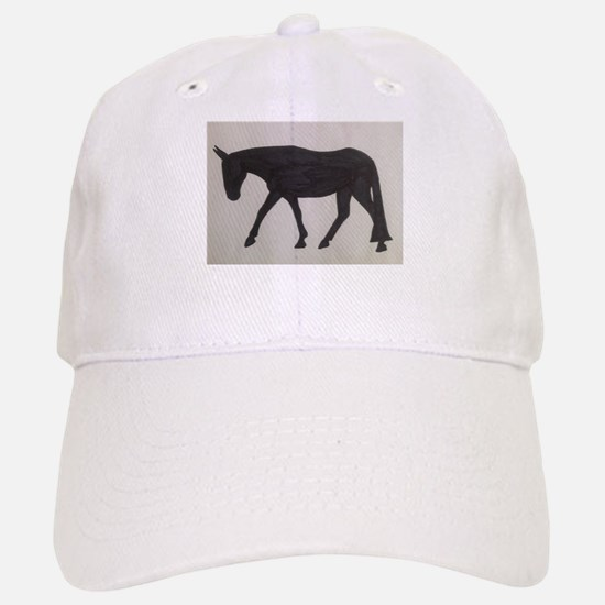 Mule outline Cap