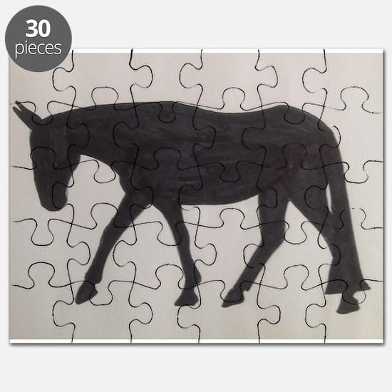 Mule outline Puzzle
