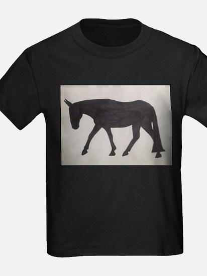 Mule outline T