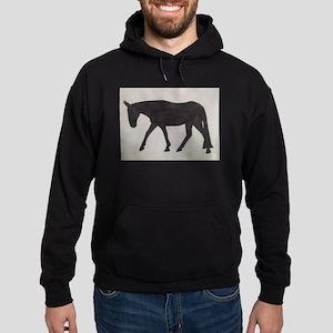 Mule outline Hoodie (dark)