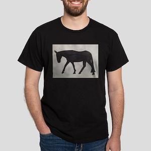 Mule outline Dark T-Shirt