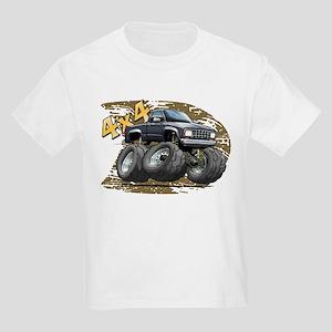Black_Old_Ranger.png Kids Light T-Shirt