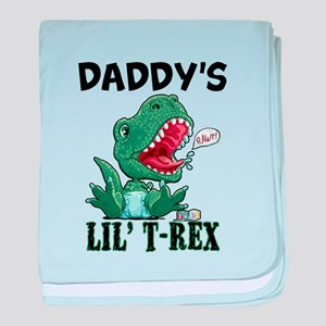 Customizable Lil' T-Rex baby blanket