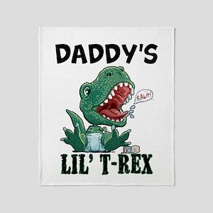 Customizable Lil' T-Rex Throw Blanket
