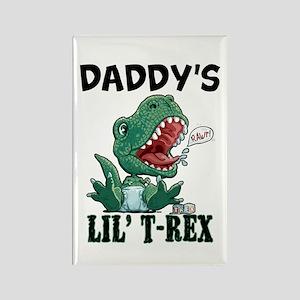 Customizable Lil' T-Rex Rectangle Magnet
