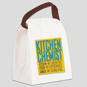 Kitchen Chemist Canvas Lunch Bag