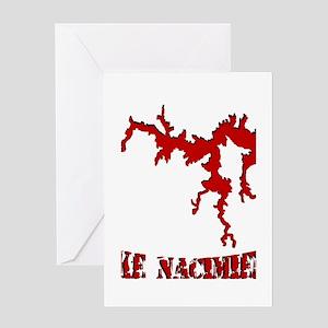 NACI_823_CRIMSON Greeting Card