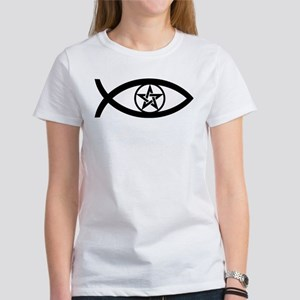 Wiccan Fish Symbol Women's T-Shirt