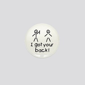 I Got Your Back Silly Mini Button