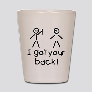 I Got Your Back Silly Shot Glass