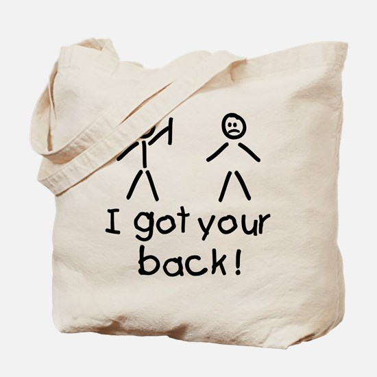 I Got Your Back Silly Tote Bag