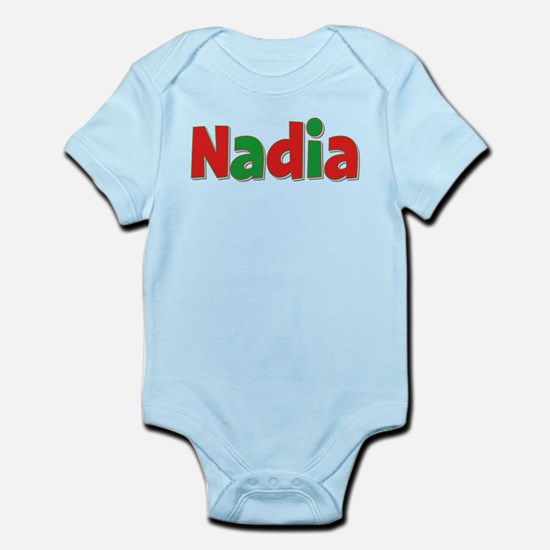 Nadia Christmas Infant Bodysuit