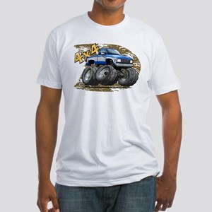 BlueW_Old_Ranger Fitted T-Shirt