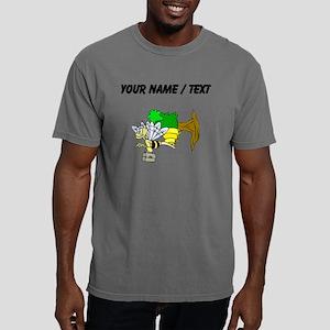 Custom Bee Going To Work Mens Comfort Colors Shirt