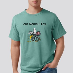 Custom Bee Painting Stri Mens Comfort Colors Shirt