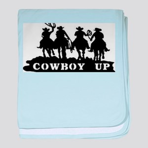 Cowboy Up baby blanket