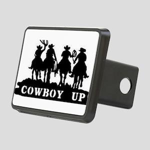Cowboy Up Rectangular Hitch Cover