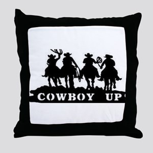 Cowboy Up Throw Pillow