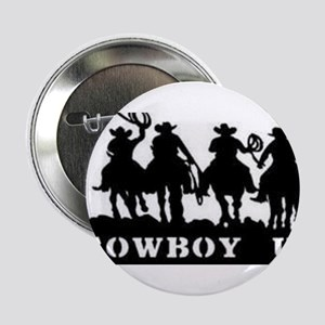 "Cowboy Up 2.25"" Button"