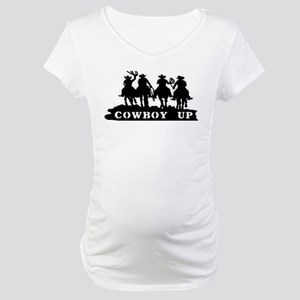 Cowboy Up Maternity T-Shirt