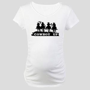 Cowboy Up Maternity T-Shirts - CafePress cac6bc379