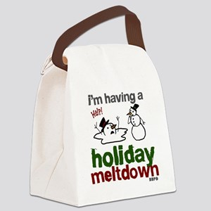 Holiday Meltdown Canvas Lunch Bag