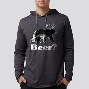 Beer?_Blk Mens Hooded Shirt