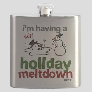 Holiday Meltdown Flask