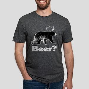Beer?_Blk Mens Tri-blend T-Shirt