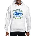 T-Rex Hates Push-ups 2 Hooded Sweatshirt