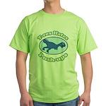 T-Rex Hates Push-ups 2 Green T-Shirt