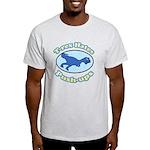 T-Rex Hates Push-ups 2 Light T-Shirt
