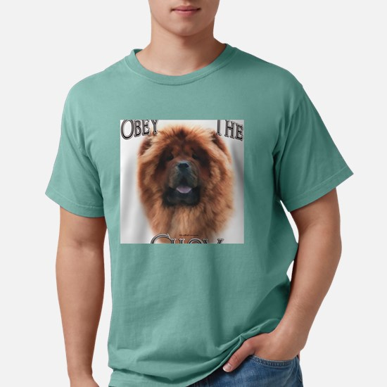 ChowObey.png Mens Comfort Colors Shirt