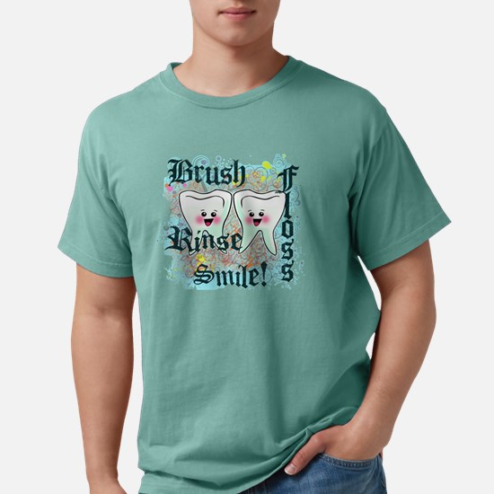 two teethgrunge.png Mens Comfort Colors Shirt