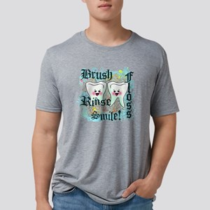 two teethgrunge Mens Tri-blend T-Shirt