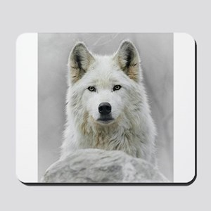 White Wolf Mousepad