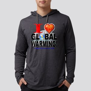 iheartGW logo Mens Hooded Shirt