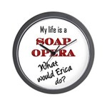 What Would Erica Do? Wall Clock