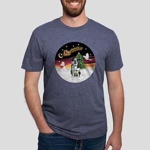 R-NightFlight-CatahoulaLD.p Mens Tri-blend T-Shirt