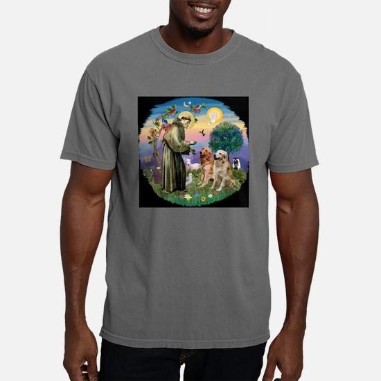 CLK-StFran-2Goldens.png Mens Comfort Colors Shirt