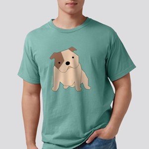 bulldogblack Mens Comfort Colors Shirt