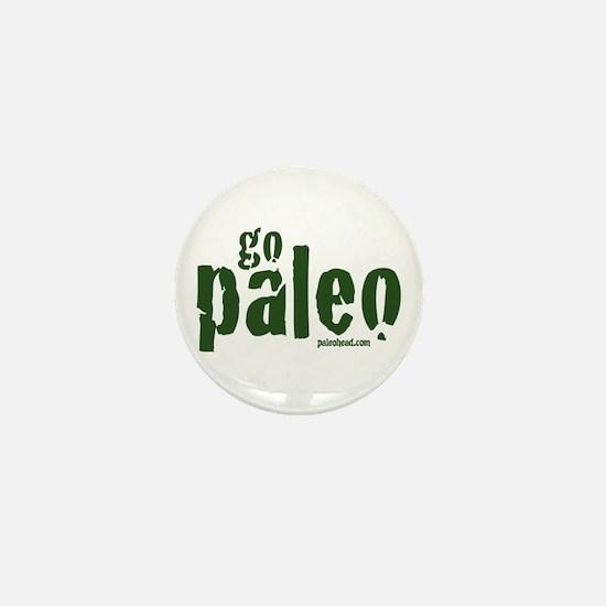 Go Paleo Mini Button