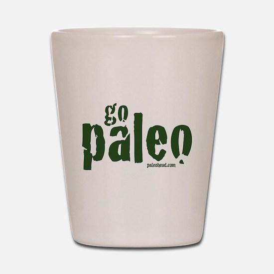 Go Paleo Shot Glass