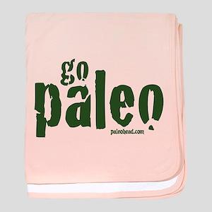 Go Paleo baby blanket
