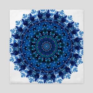 Dotty Love Mandala Kaleidoscope Queen Duvet