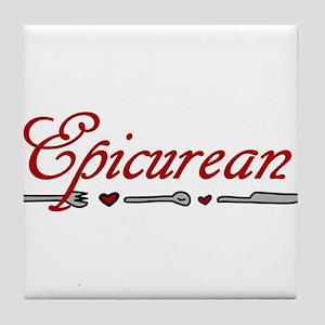Epicurean Tile Coaster