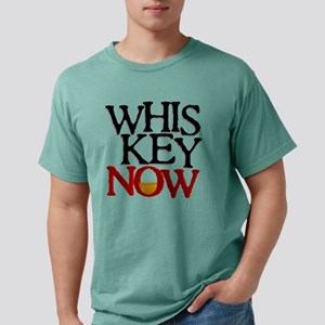Whiskey Now teeshirts fo Mens Comfort Colors Shirt
