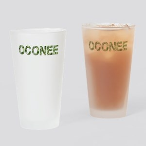 Oconee, Vintage Camo, Drinking Glass