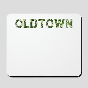 Oldtown, Vintage Camo, Mousepad
