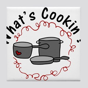 What's Cooking? Tile Coaster